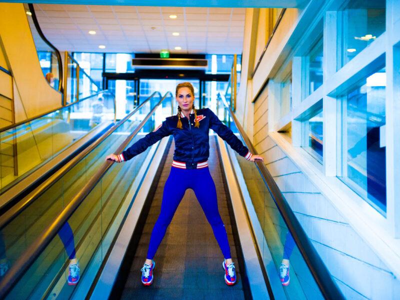 Lisa Nike shoot 1