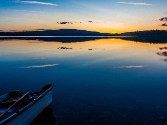 Höljessjön Zweden